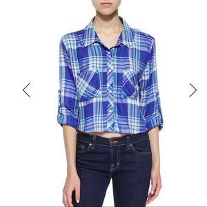 ⚡️ Rails Rian Plaid Cropped Shirt